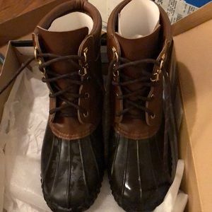 Duck boots great condition